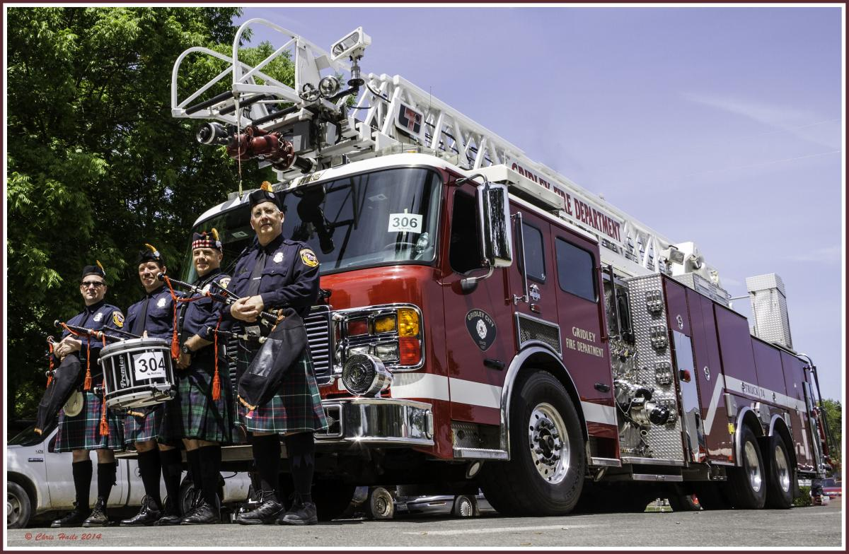 Cal Fire Pipes & Drums